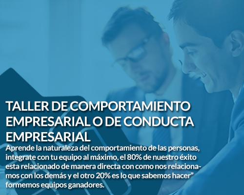 Taller de comportamiento empresarial Coach Sergio