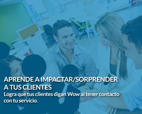 Taller aprende a sorprender a tus clientes del coach de negocios Sergio Hermida