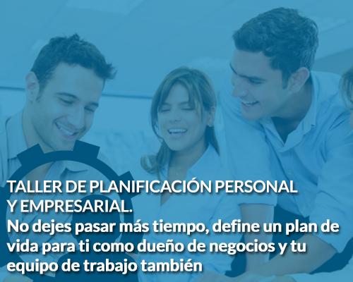 Taller planificación empresarial y personal Coach de Negocios Sergio Hermida
