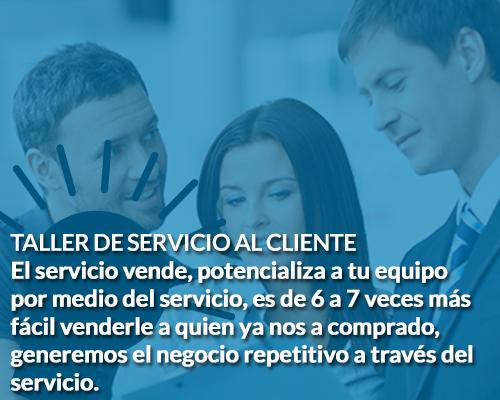 Taller de servicio al cliente Coach de Negocios Sergio Hermida